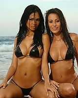Hot latina Karla Spice and her girlfriend in this amazing photoset